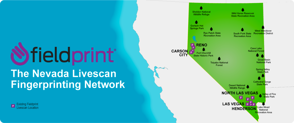 Nevada Livescan locations